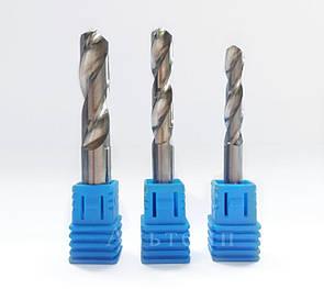 Сверло твердосплавное - монолитное с цилиндрическим хвостовиком, 2.5 mm (2.5х11х30)