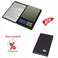 Карманные ювелирные электронные весы в виде книжки (500/0,01) MH048