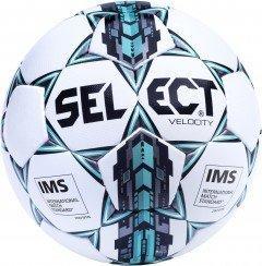Мяч футбольный Select Contra Fifa Inspected (305) №4 White-Grey-Blue 365512-305