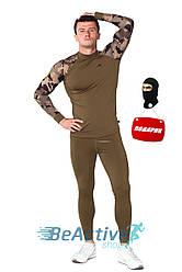 Мультифункциональное мужское термобелье  Radical Shooter Haki + балаклава в подарок (r1144)