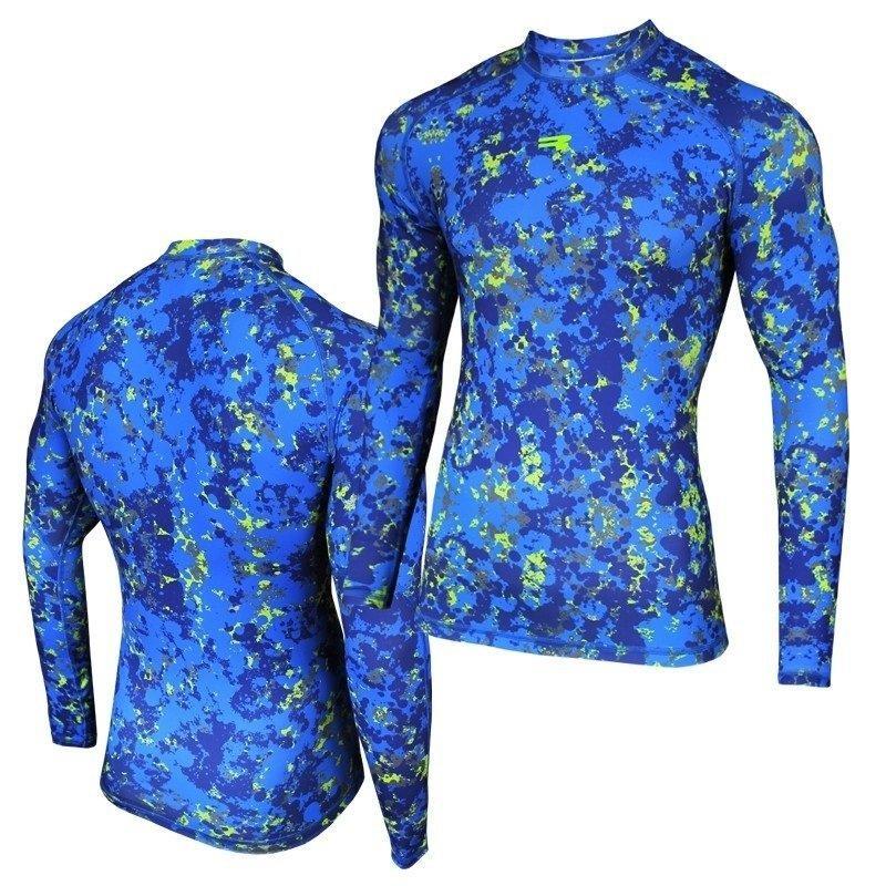 Спортивная мужская кофта Radical Furious Rushguard синяя (вторая кожа) Польша