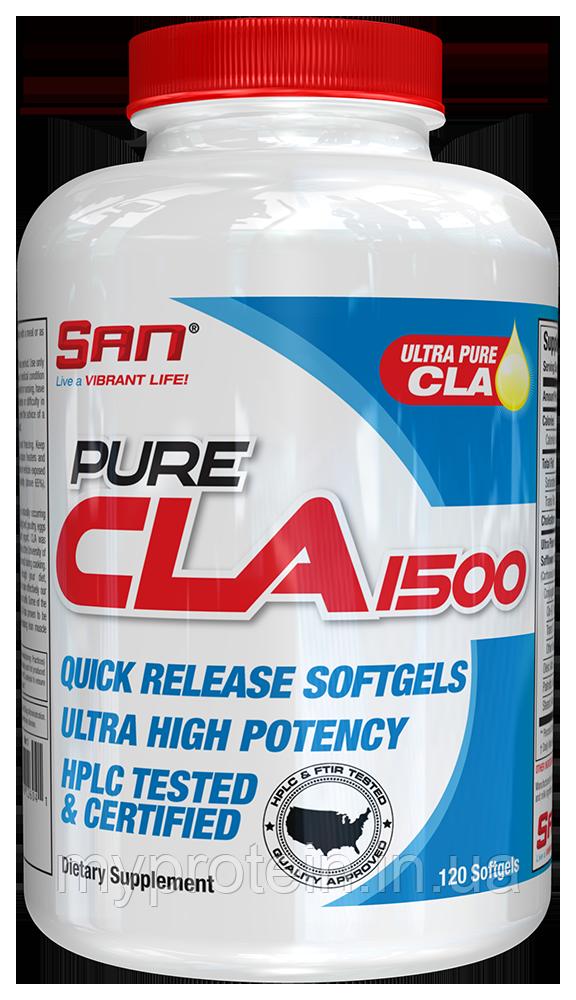 SAN конъюгированная линолевая кислота Pure CLA 1250 mg 120 softgels