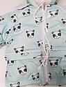 Детский зимний костюм из 3ех единиц (куртка, полукомбинезон, конверт) для детей от рождения до 1,5лет(86см), фото 5