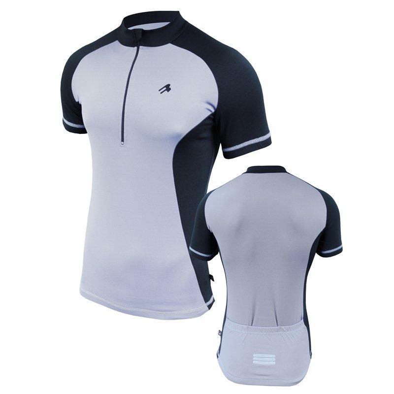 Велофутболка мужская с карманами Radical Racer SX (Серый)