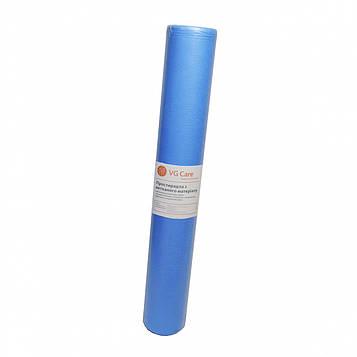 Рулон спанбонд VG Care 0,6х100 без перфорации (20 г/м2) голубой