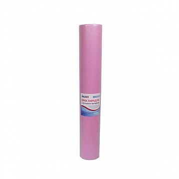 Рулон спанбонд Arzt plus 0,6х100 без перфорации (20 г/м2) розовый