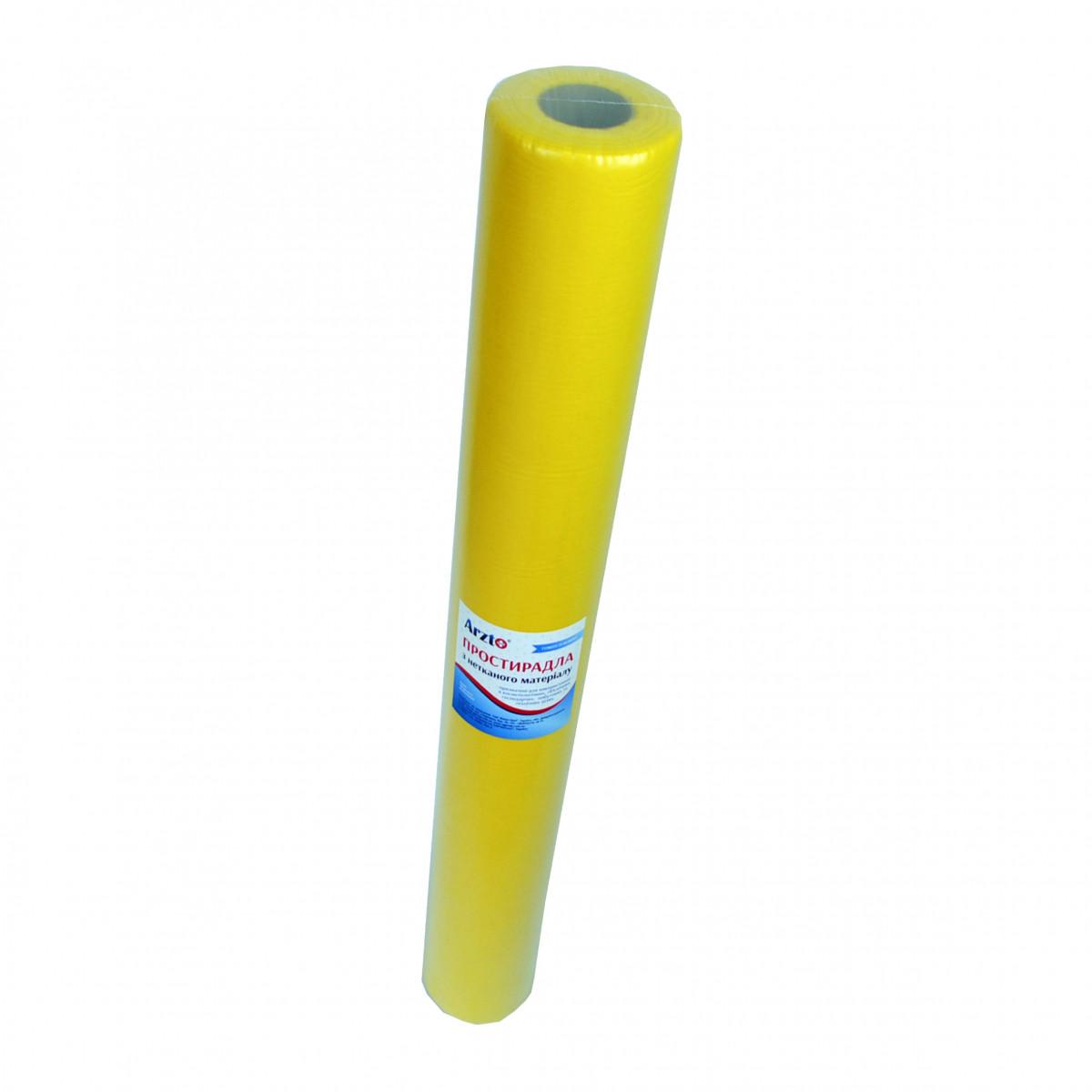 Рулон спанбонд Arzt plus 0,8х100 без перфорации (20 г/м2) желтый