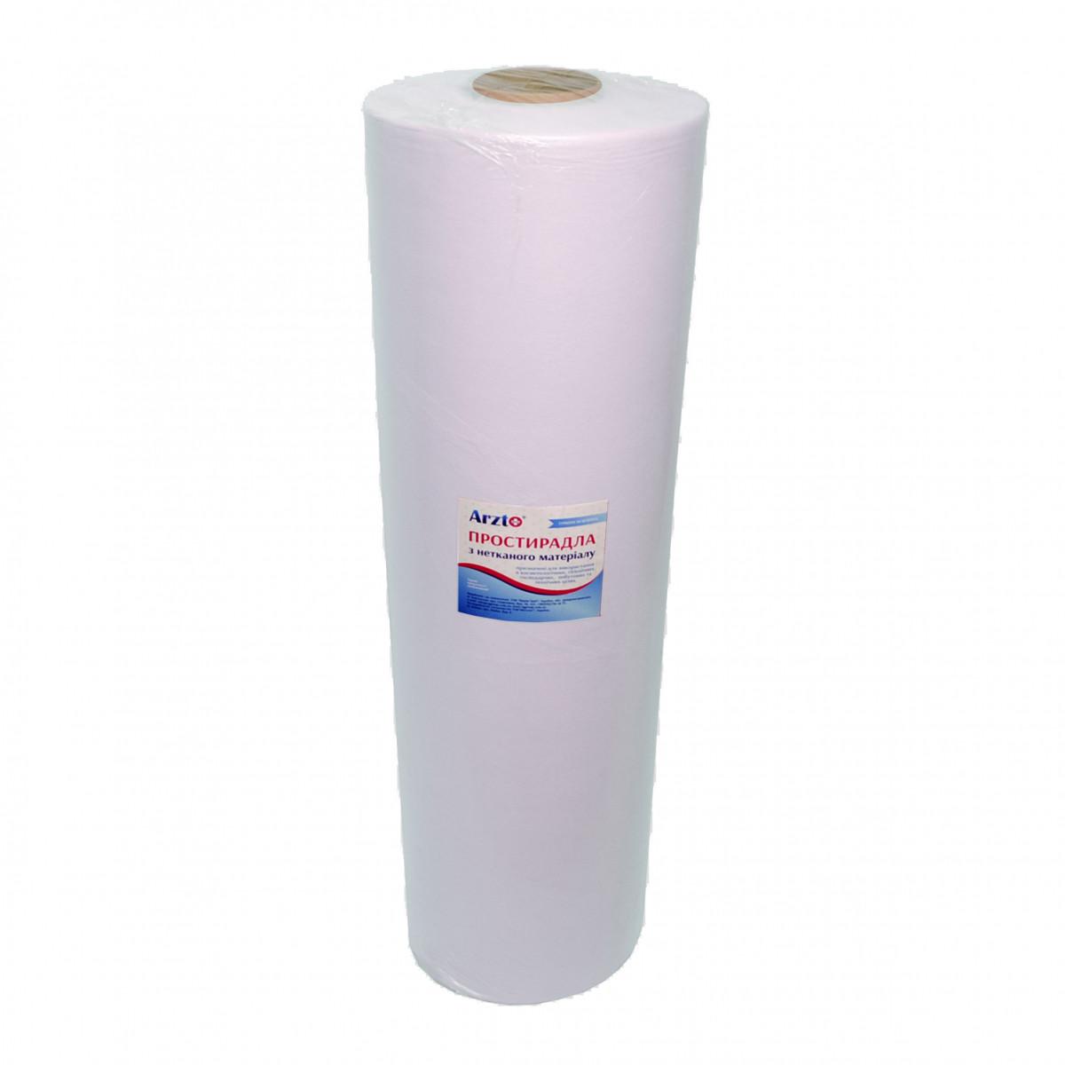 Рулон спанбонд Arzt plus 0,8х500 без перфорации (20 г/м2) белый