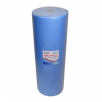 Рулон спанбонд Arzt plus 0,8х500 без перфорации (20 г/м2) голубой
