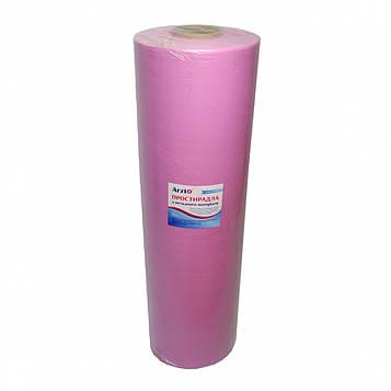 Рулон спанбонд Arzt plus 0,8х500 без перфорации (20 г/м2) розовый