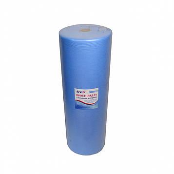 Рулон спанбонд Arzt plus 0,6х500 без перфорации (20 г/м2) голубой