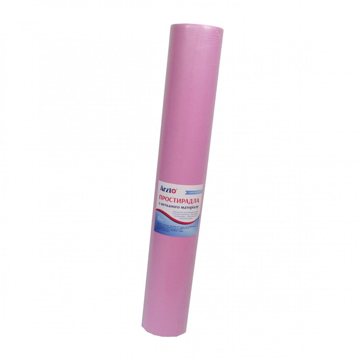 Рулон спанбонд Arzt plus 0,8х100 без перфорации (20 г/м2) розовый