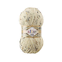 Alize Alpaca Tweed № 01 кремовий