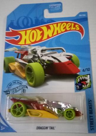 Машинка Hot Wheels 2019 Draggin' Tail