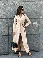 Женское платье-пиджак макси