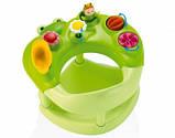 Стульчик для купания Smoby Cotoons Жабка с игрушками 110606, зеленый, фото 2
