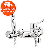 Смеситель для ванны с душевым гарнитуром Deante Kostel BFK 011M хром