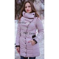 Женское пальто с объемным воротником, фото 1