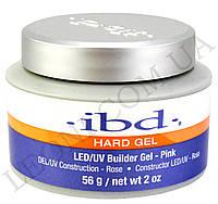 Конструирующий прозрачно-розовый гель IBD LED/UV Builder Gel Pink (56 г)