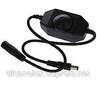 Диммер ручное управление 6A  12V для светодиодной ленты  Черный, фото 4