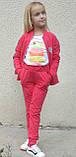 Спортивный костюм на девочку Сердечко (4-9 лет), фото 2