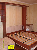 Шкаф-кровать с комодом