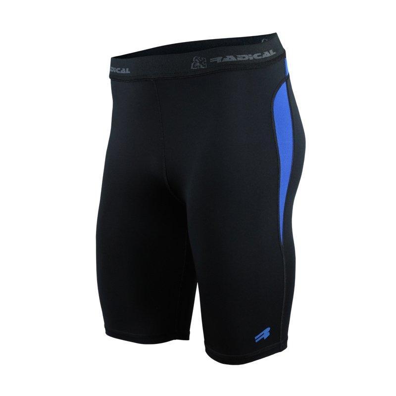 Спортивные мужские шорты Radical Rapid (Польша) черно-синий r5142
