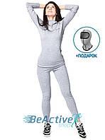 Комплект теплого женского термобелья Radical Cute (серый). Комплект+подарок! (r1114)