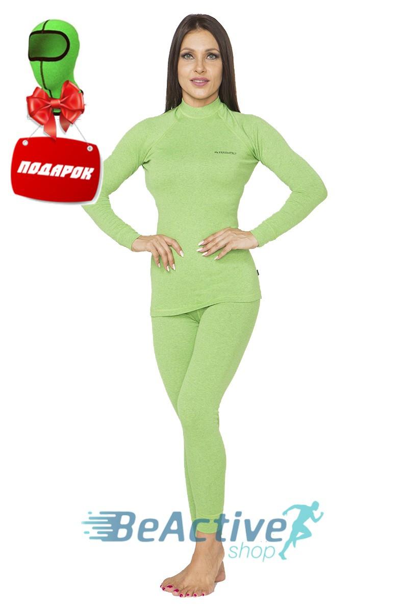 Комплект теплого женского термобелья Radical Cute (зеленый). Комплект+подарок! (r1113)