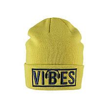 Детская шапка для мальчика BRUMS Италия 183BFLA004 Желтый
