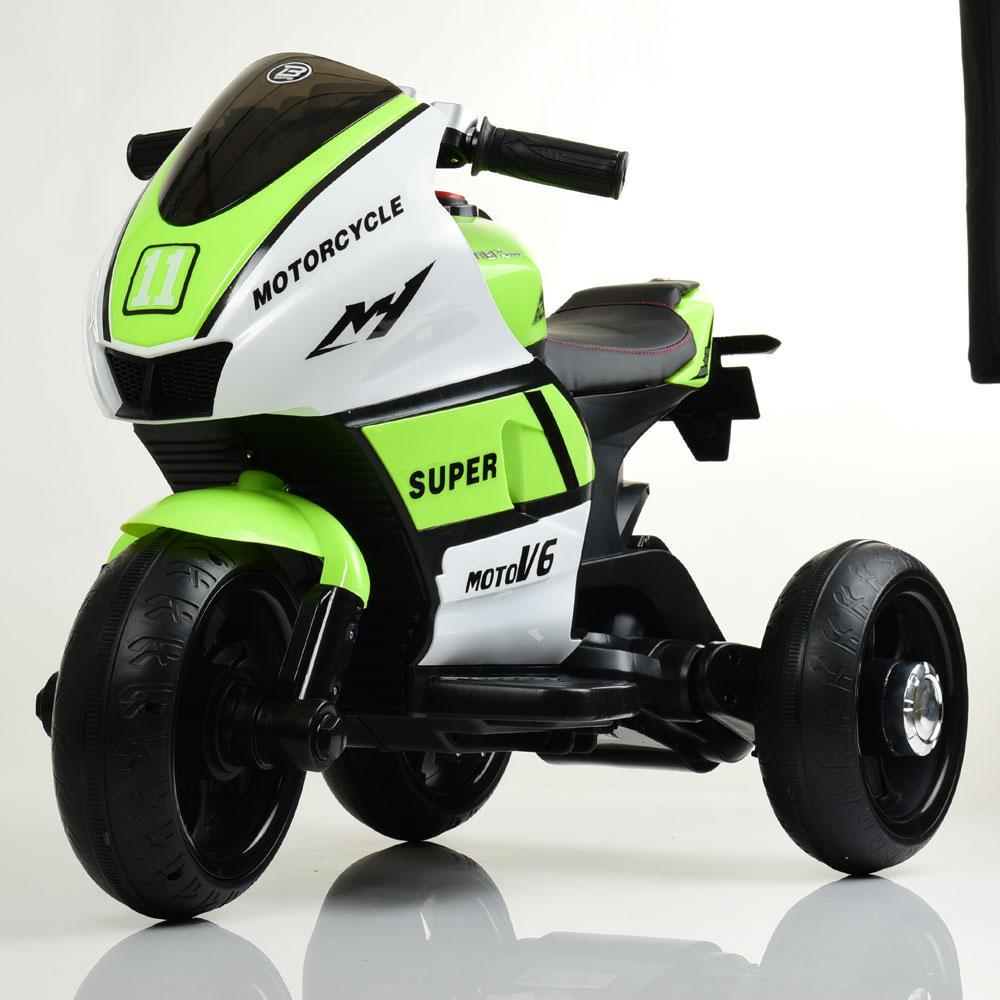Электромобиль Мотоцикл M 4135L-1-5 зеленый BAMBI