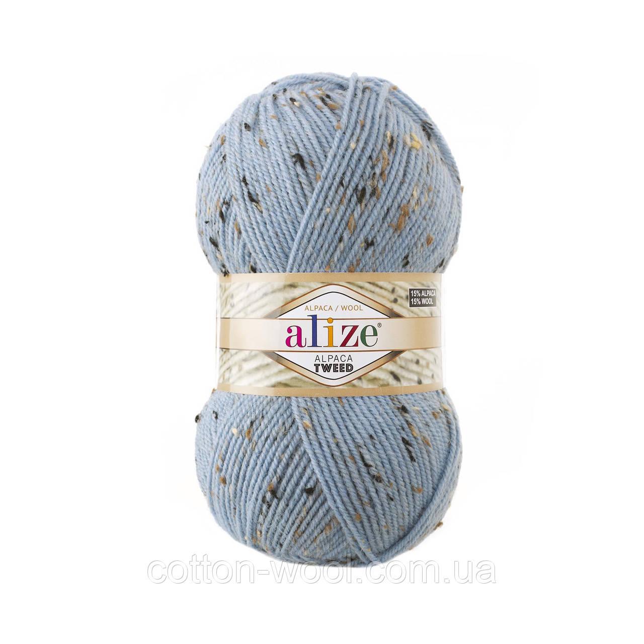Alpaca Tweed (Альпака Твід) (15% - вовна, 15% - альпака, 5% - віскоза, 65% - акріл) 356