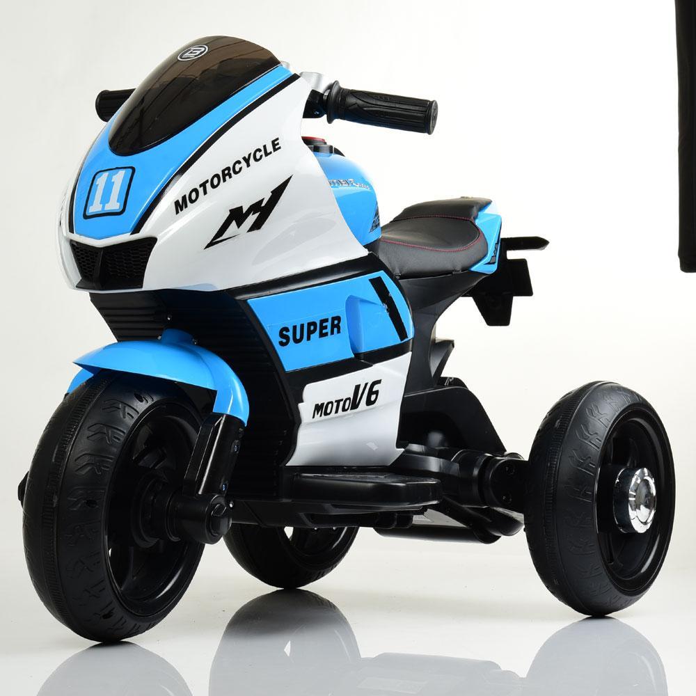 Електромобіль Мотоцикл M 4135L-1-4 синій BAMBI