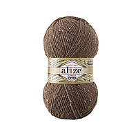 Alize Alpaca Tweed № 688 кави з молоком меланж