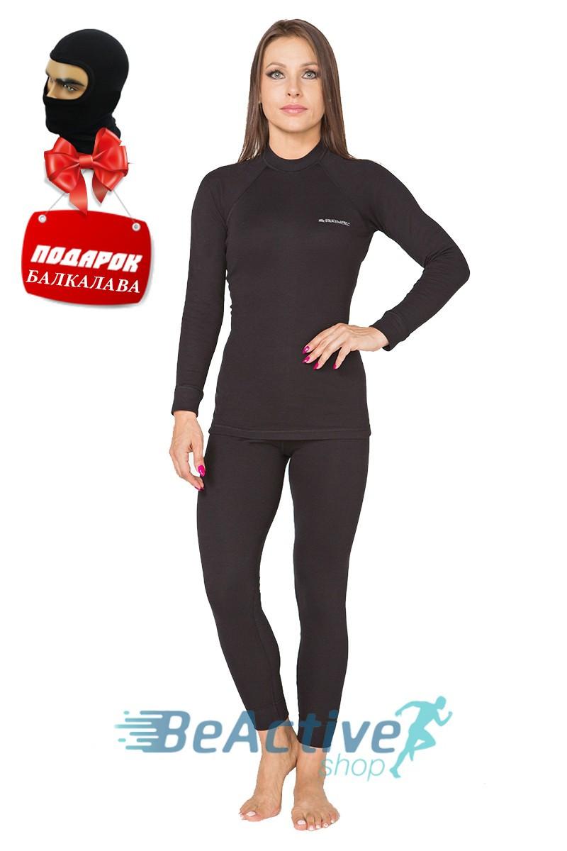 Женское Термобелье Radical Rock черная строчка. Комплект+подарок! (r1104)