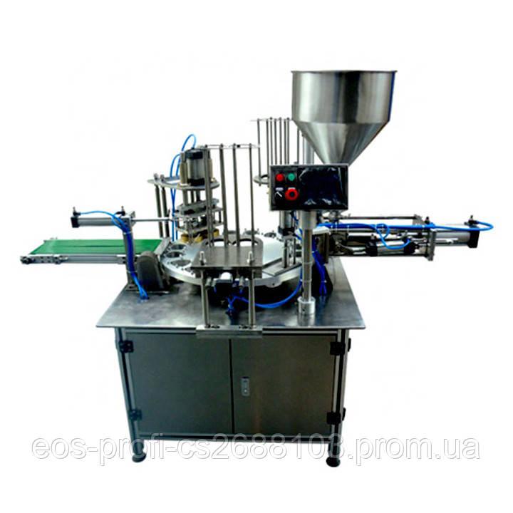 Ротаційний автомат для фасування джему, меду, соусу