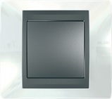 Рамка 2 пост. Unica Top белоснежный/графит MGU66.004.292, фото 3