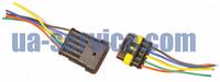 Разъем Super Seal 1.5 5 контактов (собранные с проводами), фото 1