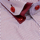 Сорочка чоловіча, приталена (Slim Fit), з довгим рукавом Birindelli 512461 80% бавовна 20% поліестер L(Р), фото 2