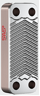 Паяный теплообменник Swep E5AS