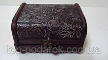 Скринька дерев'яний розмір 12*11*7