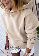 Женская стильная толстовка с капюшоном Разные цвета