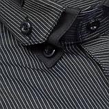 Сорочка чоловіча, приталена (Slim Fit), з довгим рукавом Birindelli 512385 80% бавовна 20% поліестер M(Р), фото 2