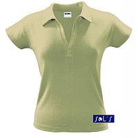 Рубашка поло с американской проймой SOL'S PRETTY Поло женкое Футболка поло женкая Тенниска женская Футболка поло без логотипа