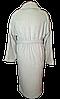Банный женский махровый халат, р-р Л 52-54 Турция Хлопок светло серого цвета, фото 5