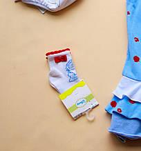 Детские носки для девочки Одежда для девочек 0-2 BRUMS Италия 131BELJ002 Белый