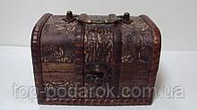 Скринька дерев'яний розмір 14*10*9