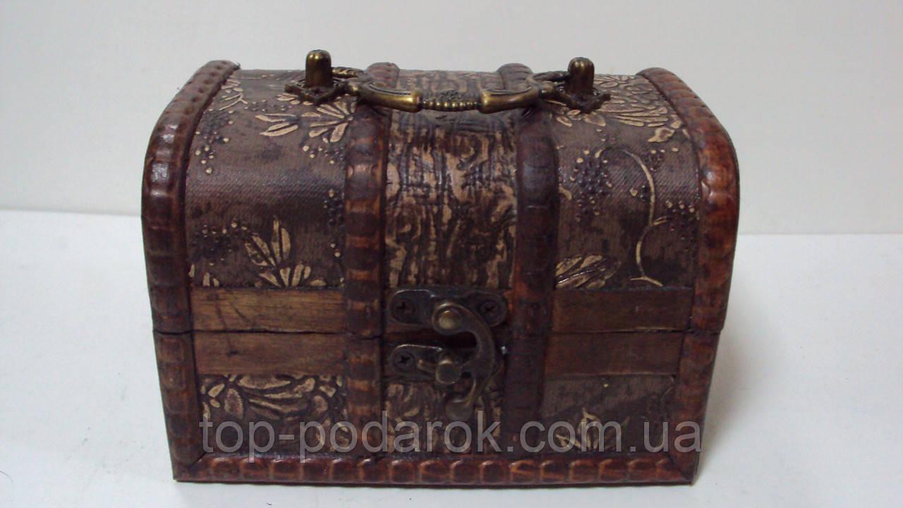 Сундучок деревянный размер 14*10*9, фото 1