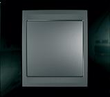 Рамка 3 пост. вертикальная Unica Top чёрный родий/графит MGU66.006V.293, фото 2