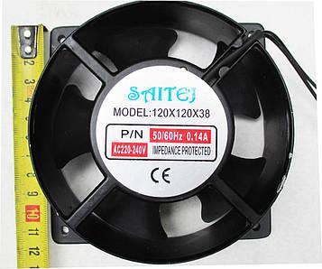 Вентилятор 220v 120\120мм на круглой основе